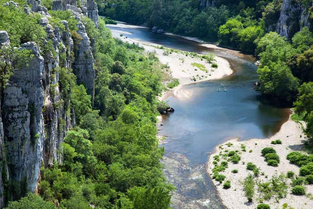Vue des Gorges Chassezac