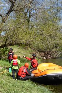 Rafting sur le Chassezac en ardèche