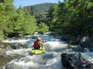 Kayak Chassezac Ardèche Les Vans