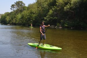 Stand Up Paddle proche de Vallon Pont d'arc