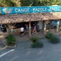 Base départ Canoë
