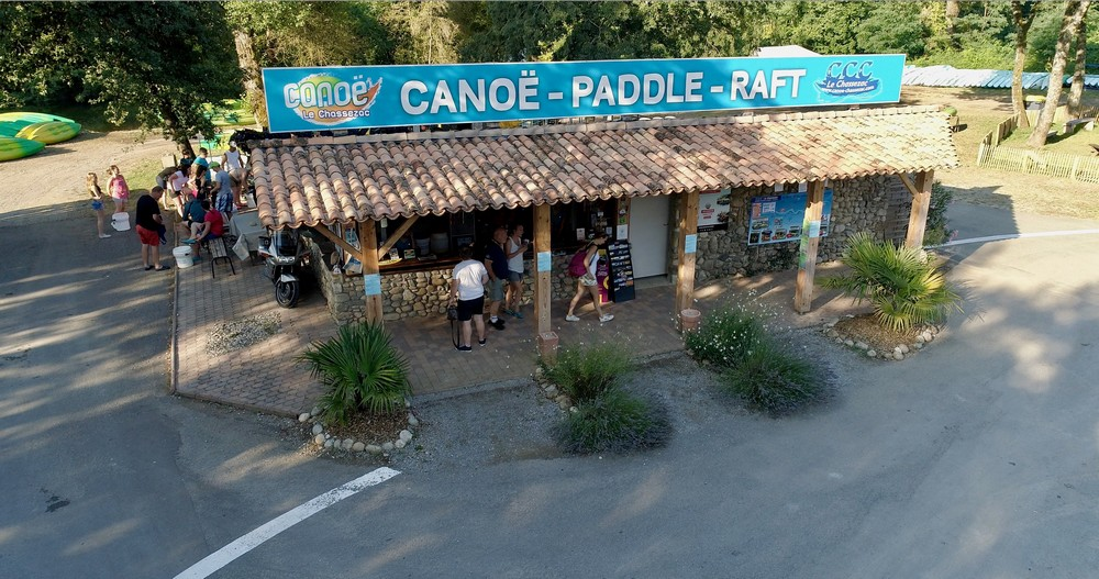 Accueil Base canoe chassezac